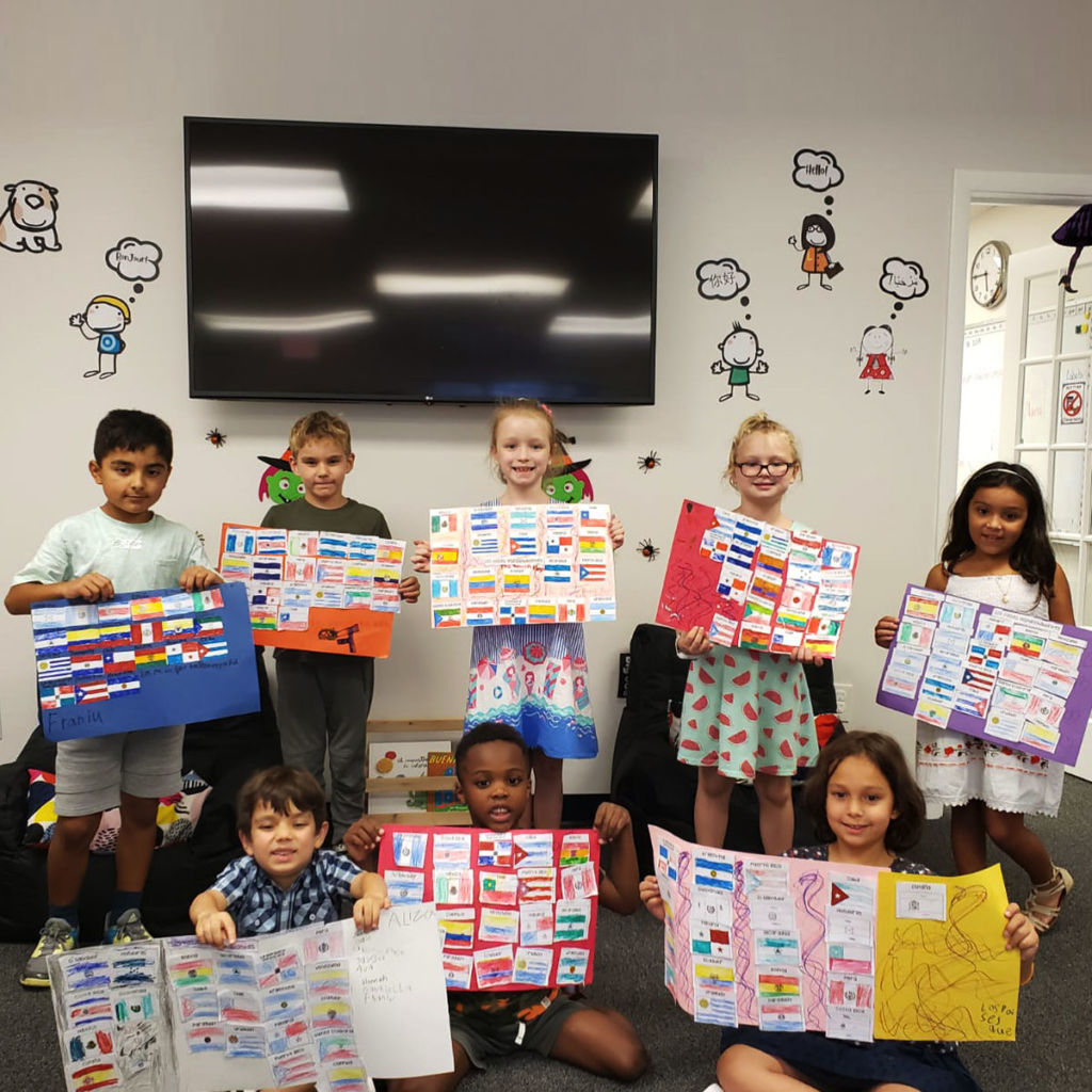 foreign language lessons for kids in Springfield VA