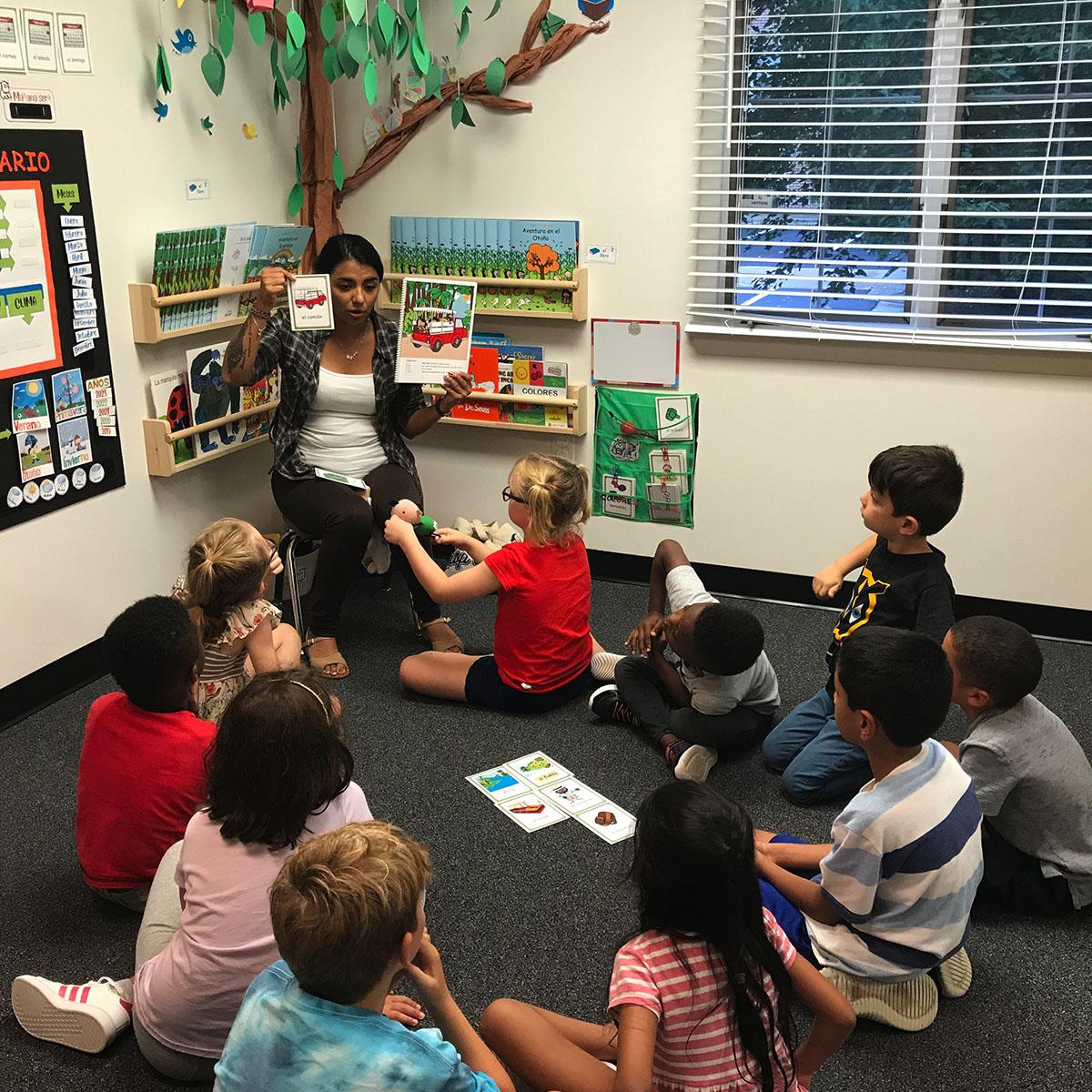 spanish lessons for kids in Springfield VA