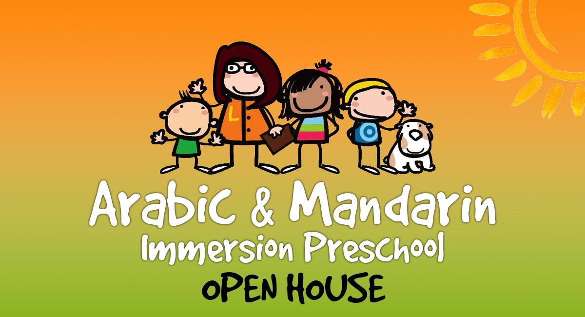 Arabic & Mandarin Open House