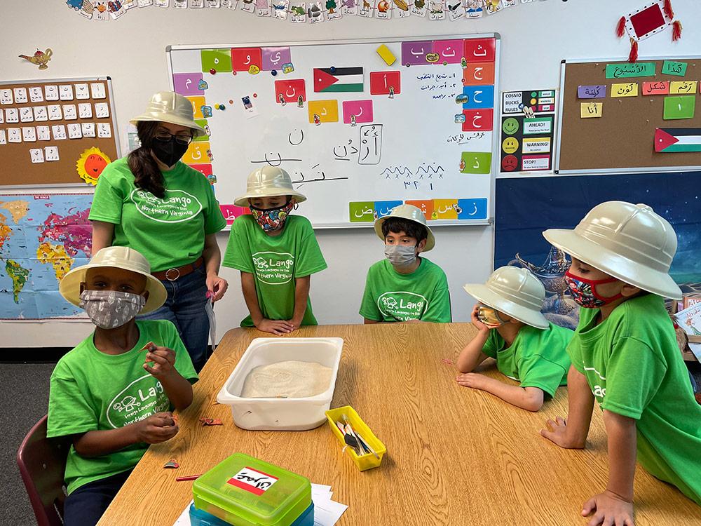 Arabic Immersion Summer Cam at Lango Kids Northern Virginia